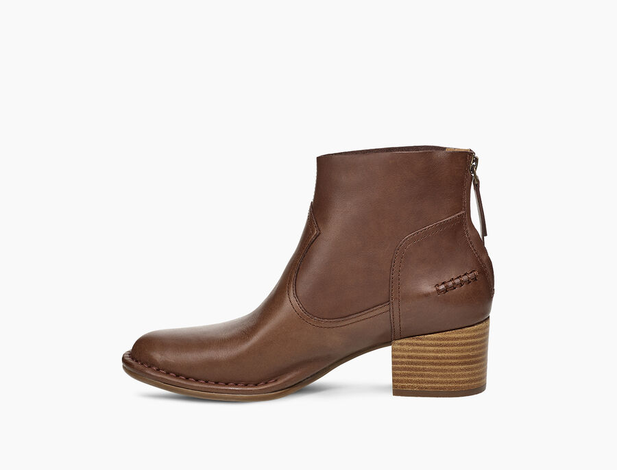 Bandara Ankle Boot Leather - Image 3 of 6