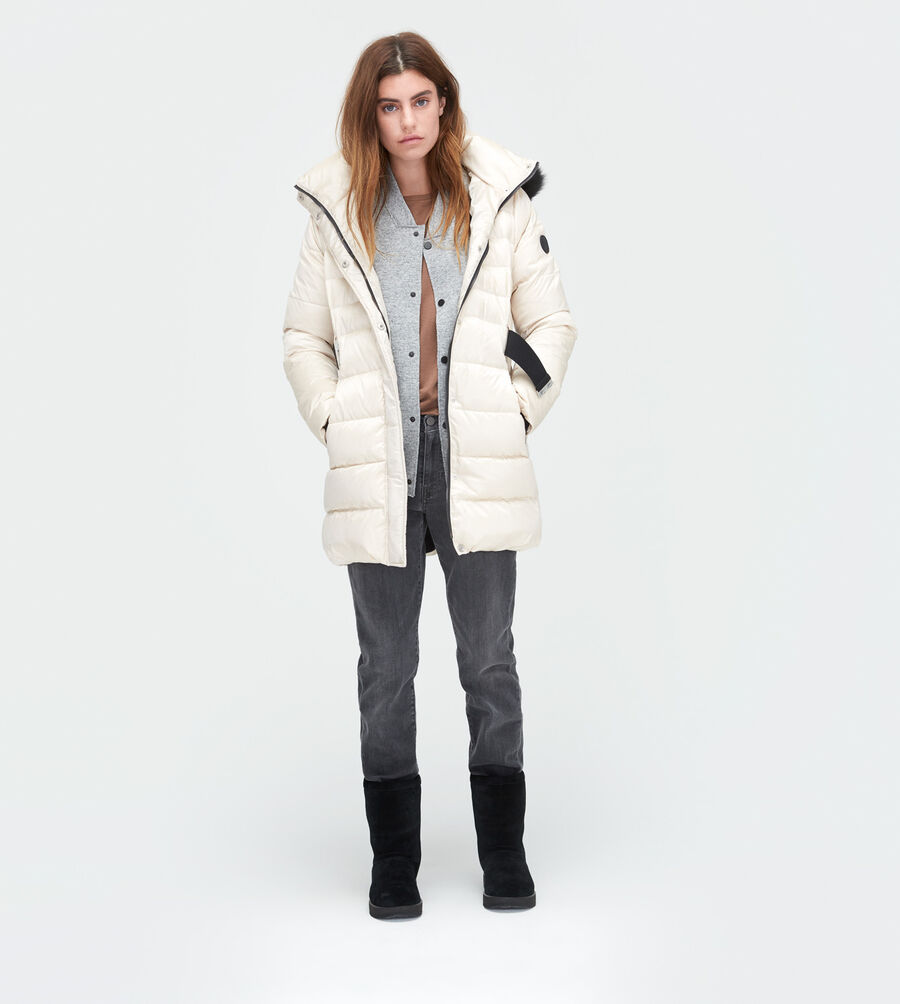 Belted Down Jacket - Image 1 of 5