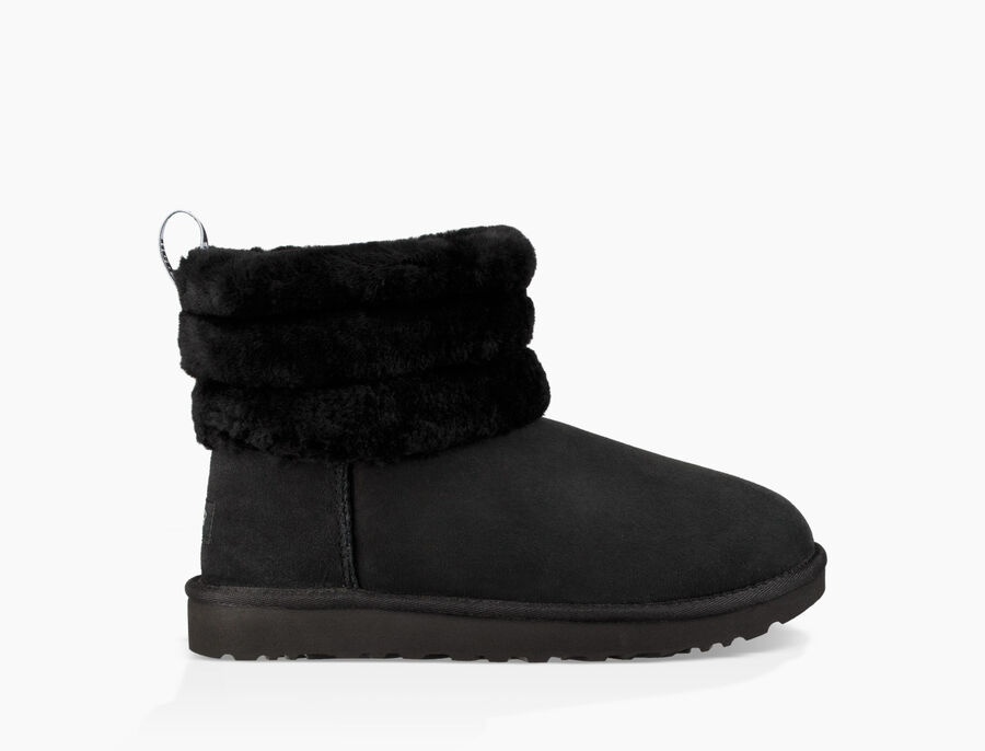 Classic Mini Fluff Quilted Boot - Image 1 of 6