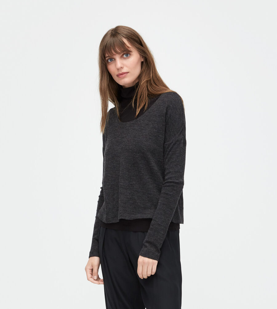 Jersey Knit Long Sleeve Tee - Image 1 of 4