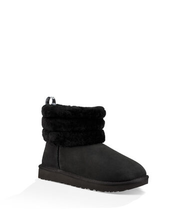Classic Mini Fluff Quilted Boot Alternative View