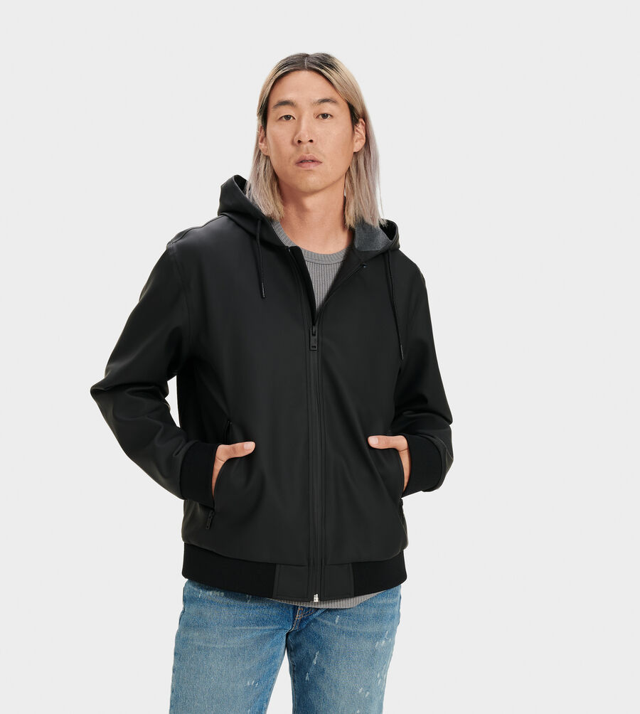 Diego Rubberized Hoodie - Image 1 of 4