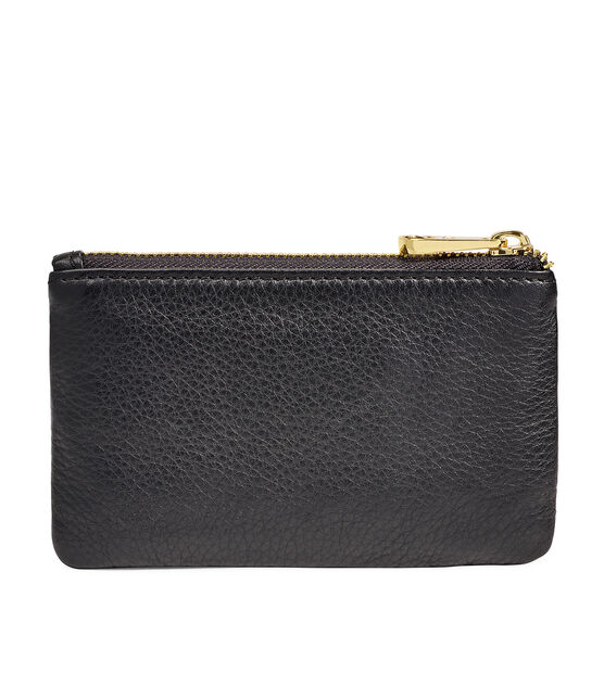 Small Leather Zip Pouch