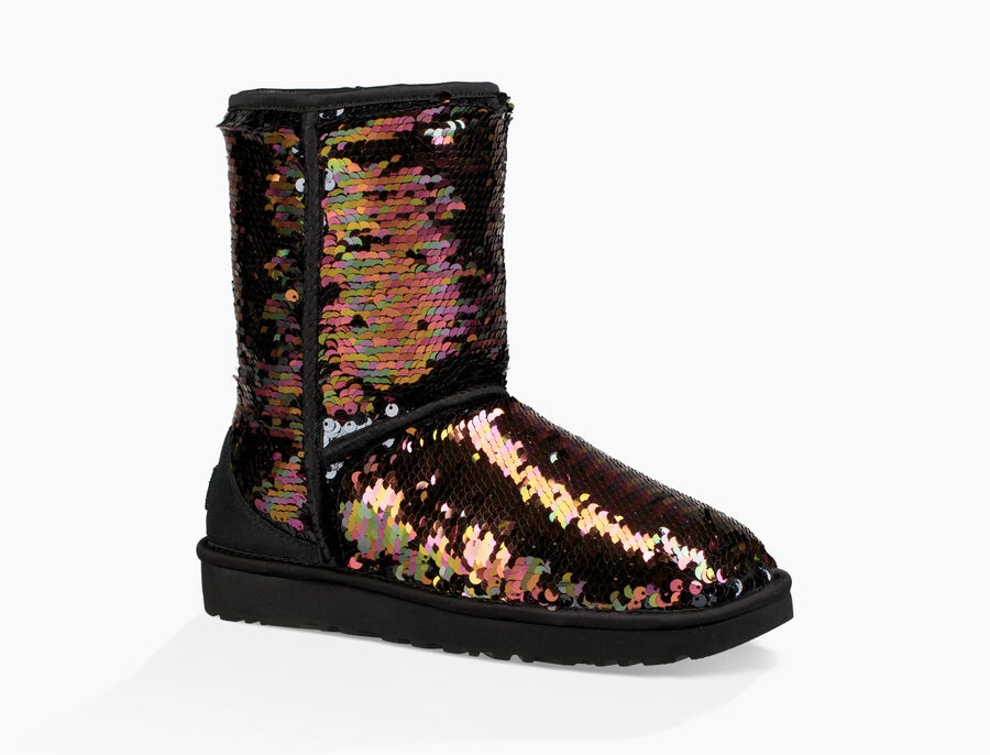 Classic Short Sequin Boot - Image 4 of 8