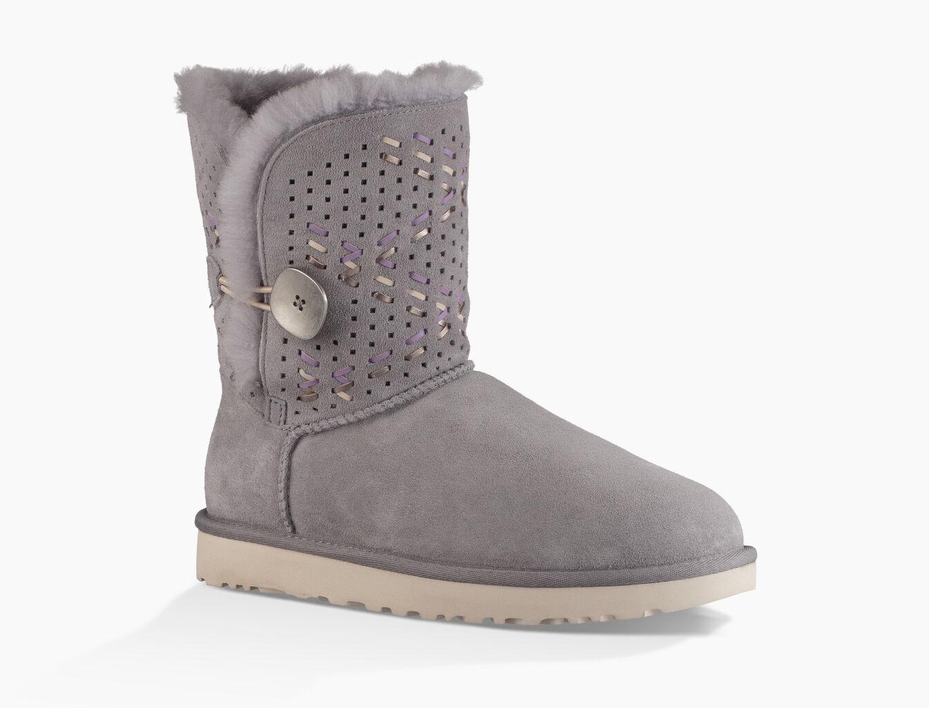 ugg australia bailey button tehuano genuine shearling boot