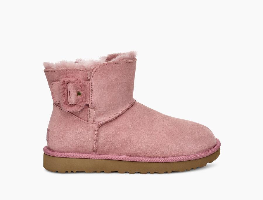 Mini Bailey Fluff Buckle Boot  - Image 1 of 6