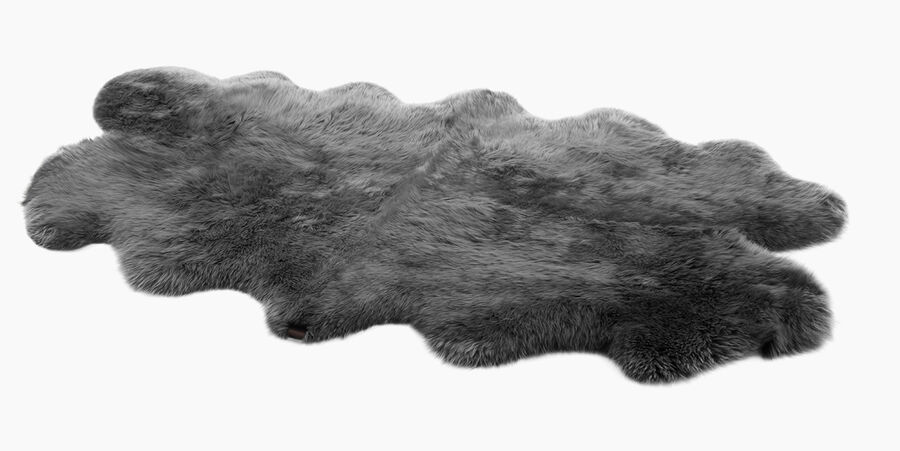 Sheepskin Area Rug-Quarto - Image 1 of 1
