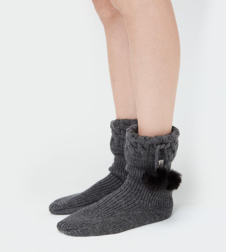 Pom Pom Short Rainboot Sock - Image 3 of 3