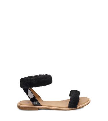 b0d8256b29b Women s Sheepskin Women s Fluffy Sandals   Shoes