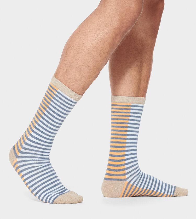 Codie Stripe Crew Sock