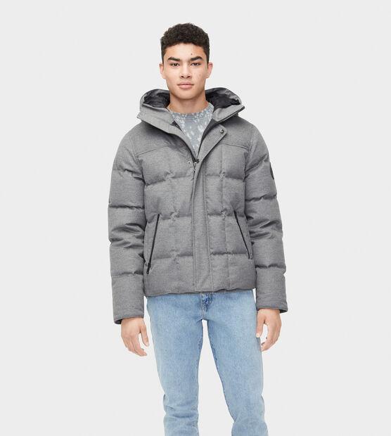 Cadin Hip-Length Wool Parka
