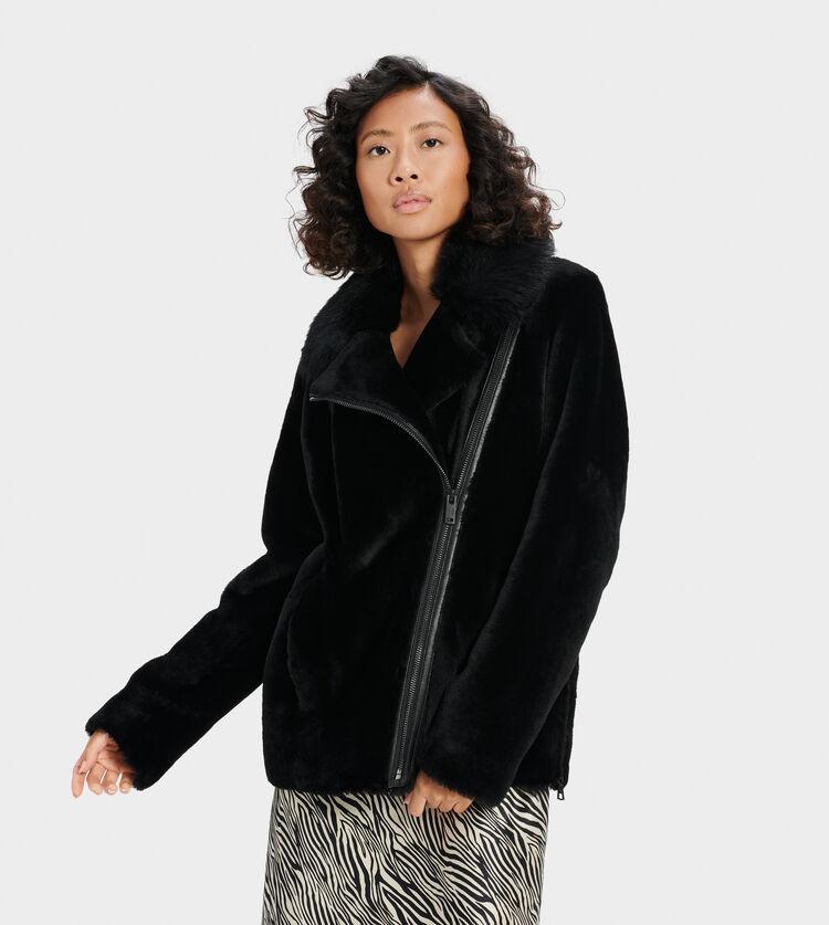 Nadine Short Shearling Jacket