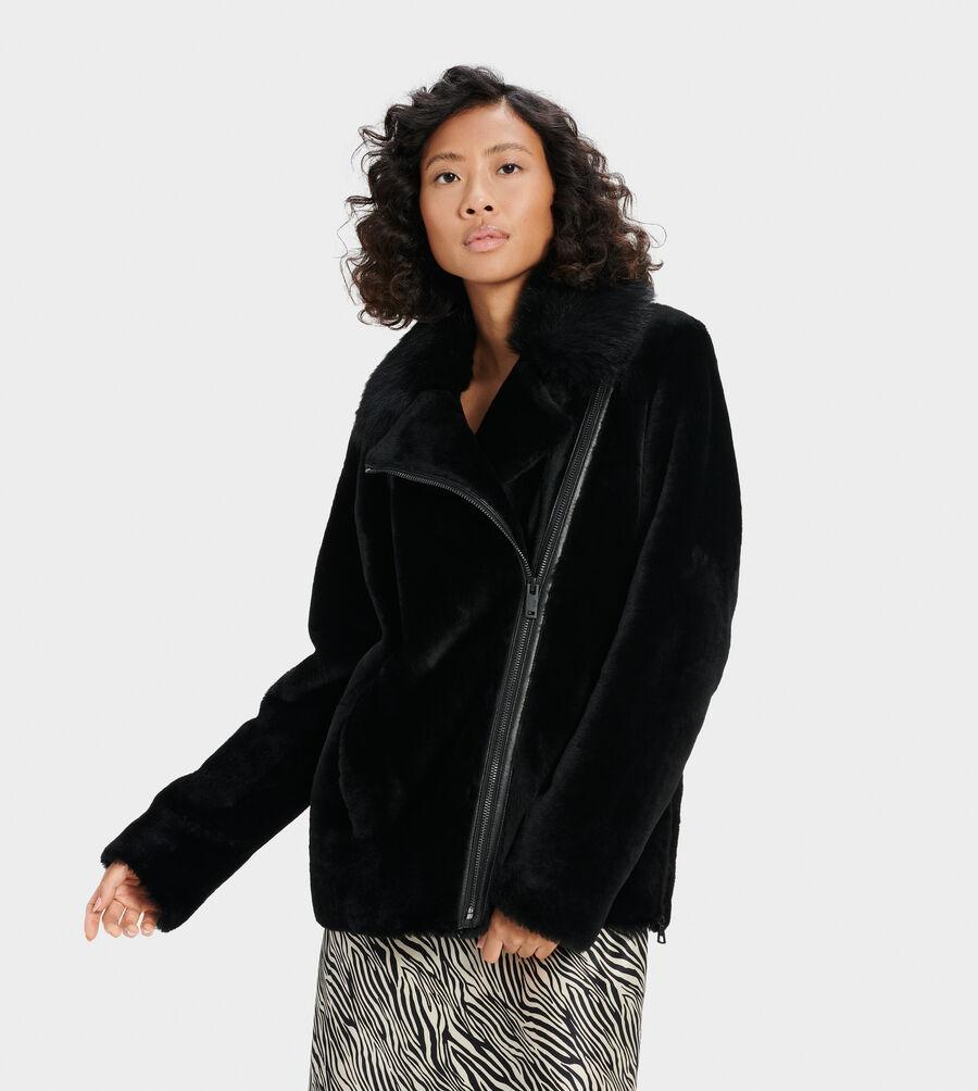 Nadine Short Shearling Jacket - Image 1 of 4