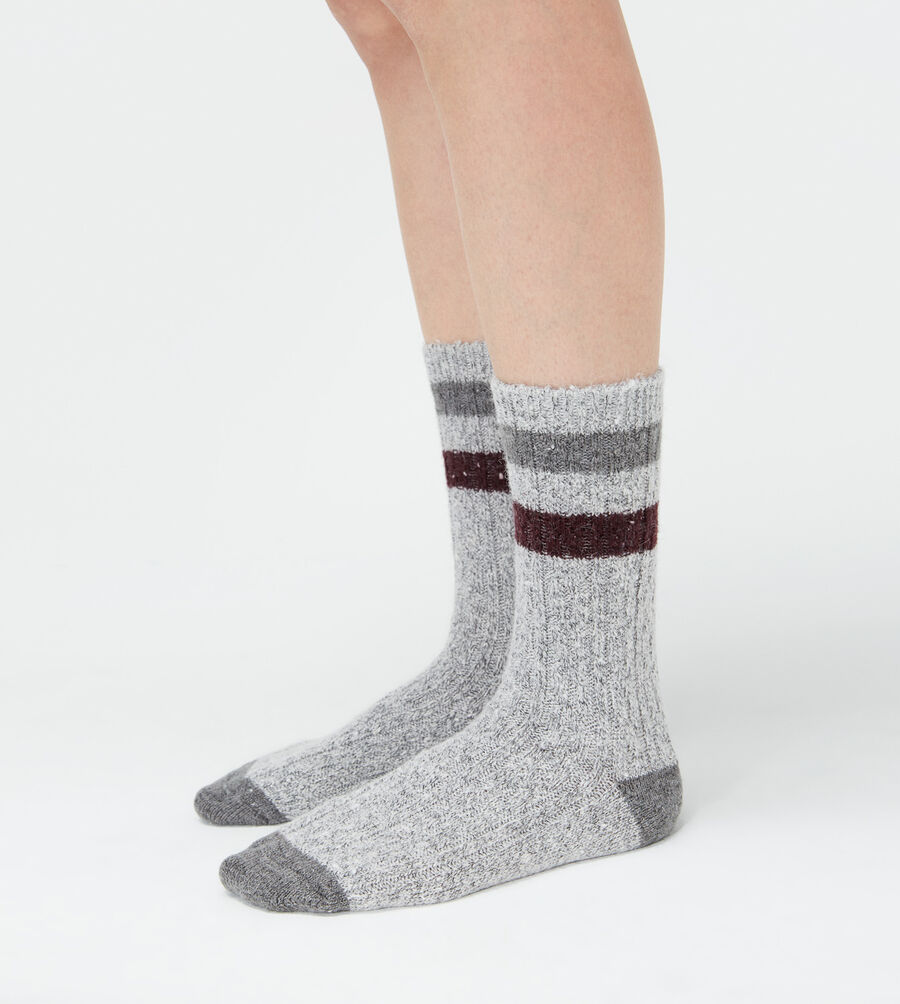Striped Camp Crew Sock - Image 1 of 3