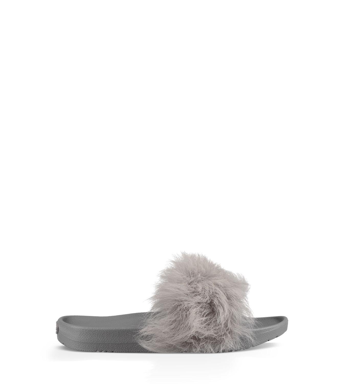UGG Faux fur slides ug7dBTR