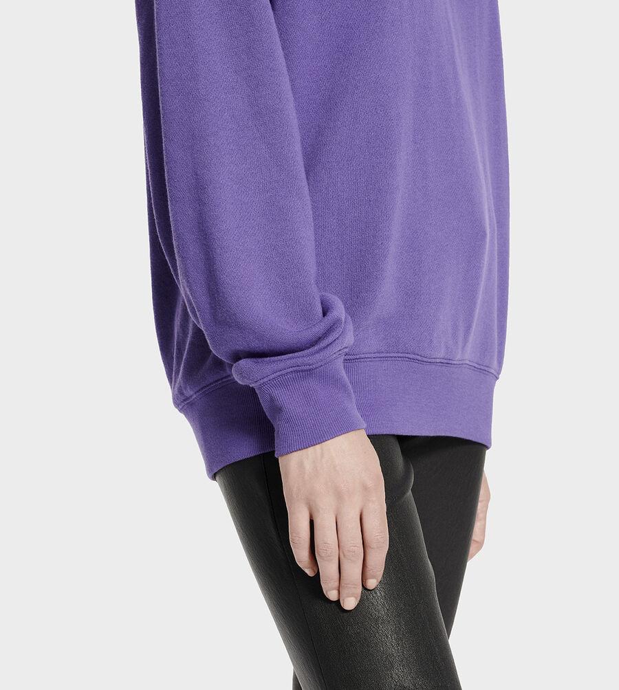Fuzzy Logo Hoodie Sweatshirt - Image 3 of 6