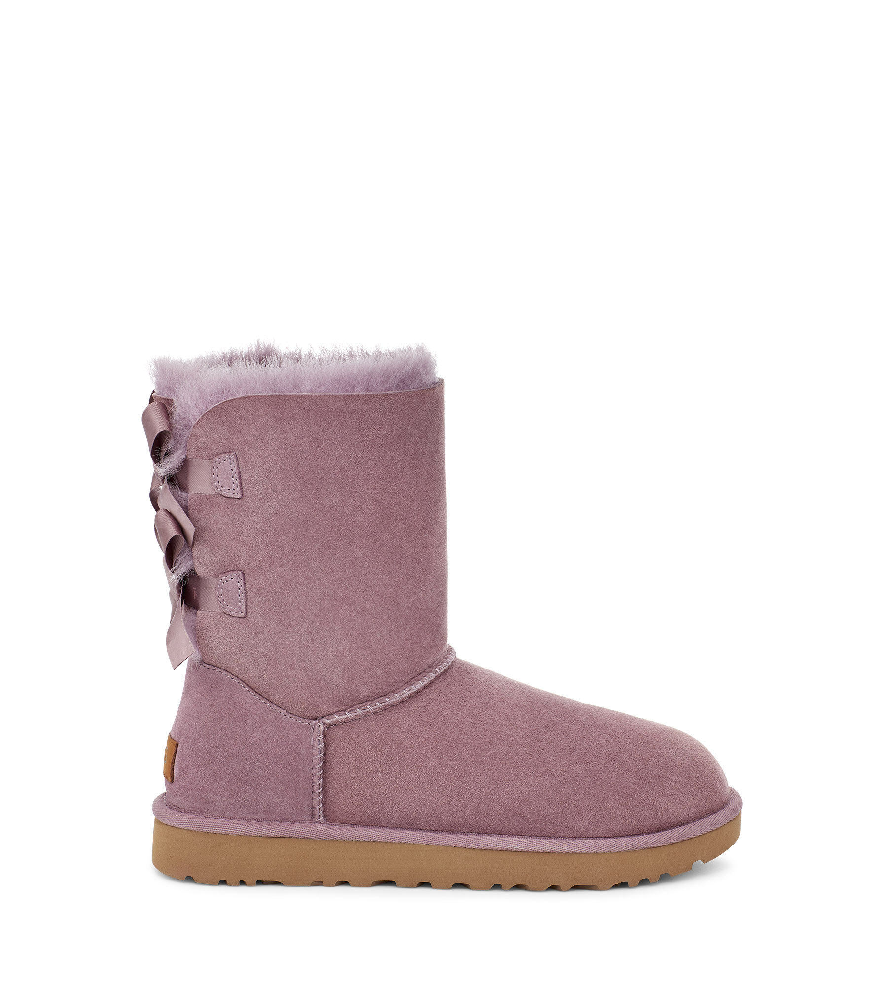 UGG Ugg Bailey Bow Ii Genuine Shearling Boot Black UGG Boots from Lyst   more