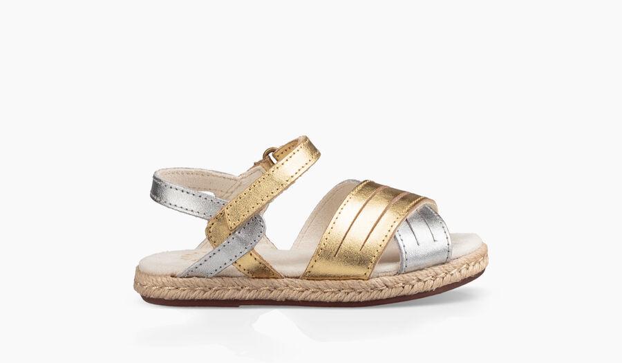 Addilyn Metallic Sandal - Image 1 of 6