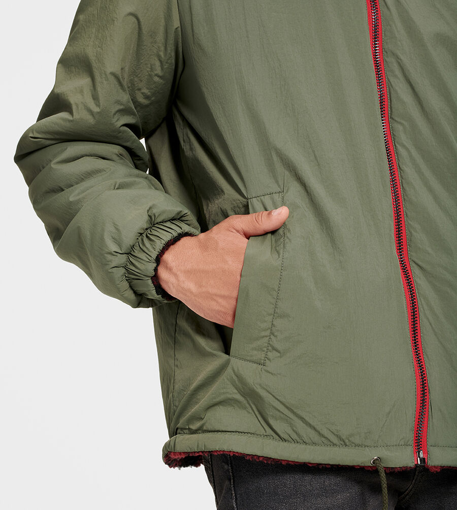 Mace Reversible Sherpa Jacket - Image 4 of 6