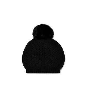 Aislinn Honeycomb Knit Pom Hat Alternative View