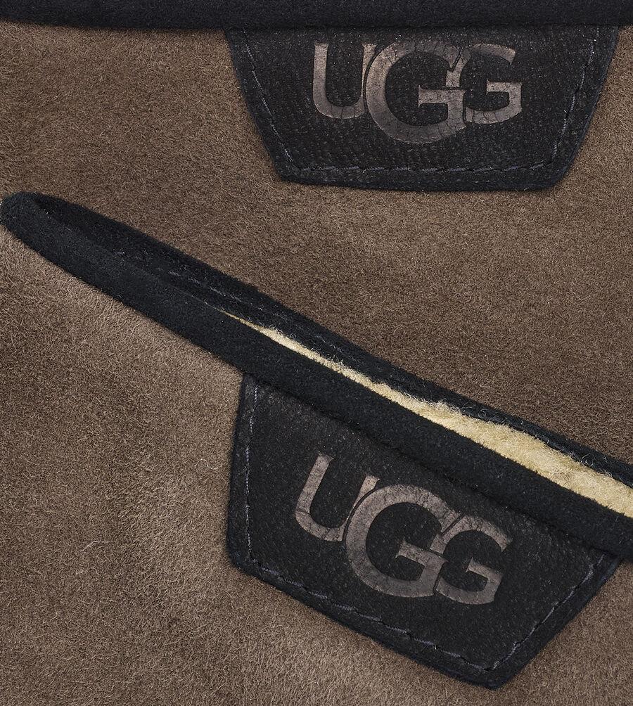 Shearling Glove W/ Lthr Trim - Image 3 of 3