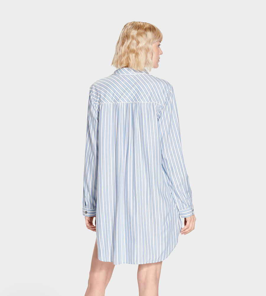 Gabri Stripe Sleep Dress - Image 2 of 6