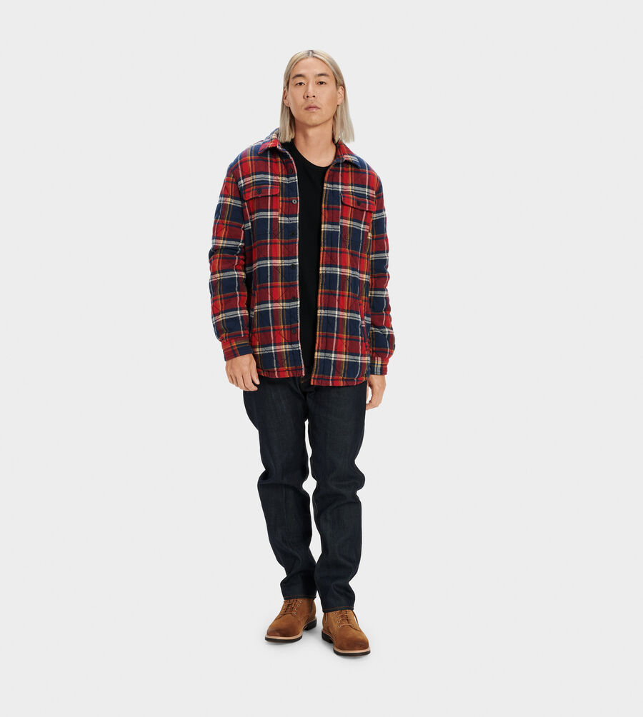 Trent Quilted Shirt Jacket Plaid - Image 2 of 5