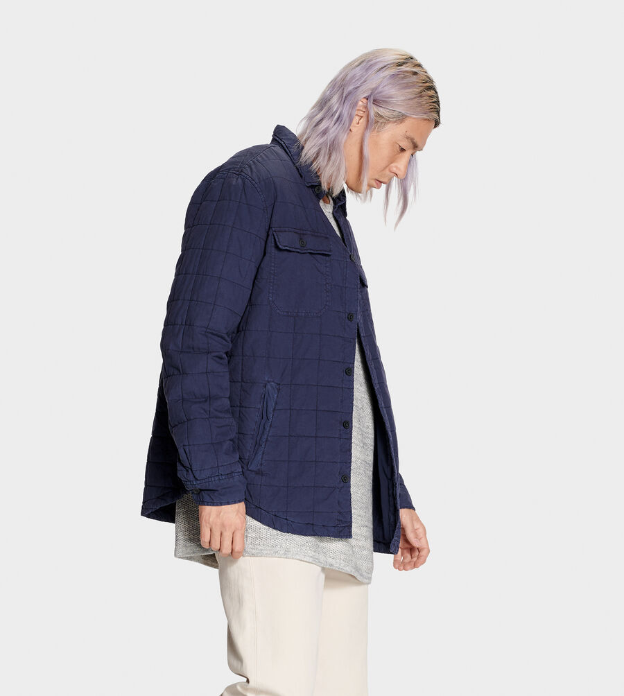 Trent Quilted Shirt Jacket - Image 3 of 6