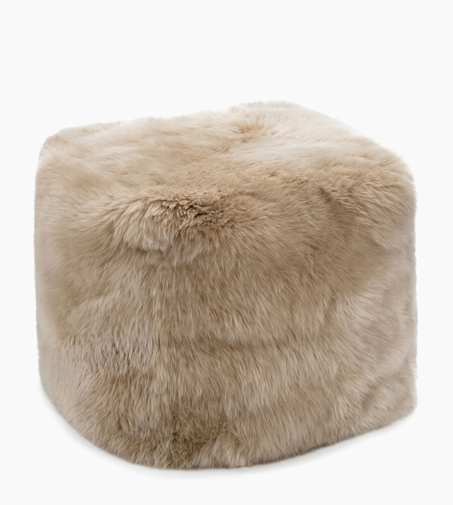 Sheepskin Pouf - Image 1 of 1