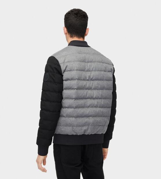 Gavin Wool Bomber Jacket