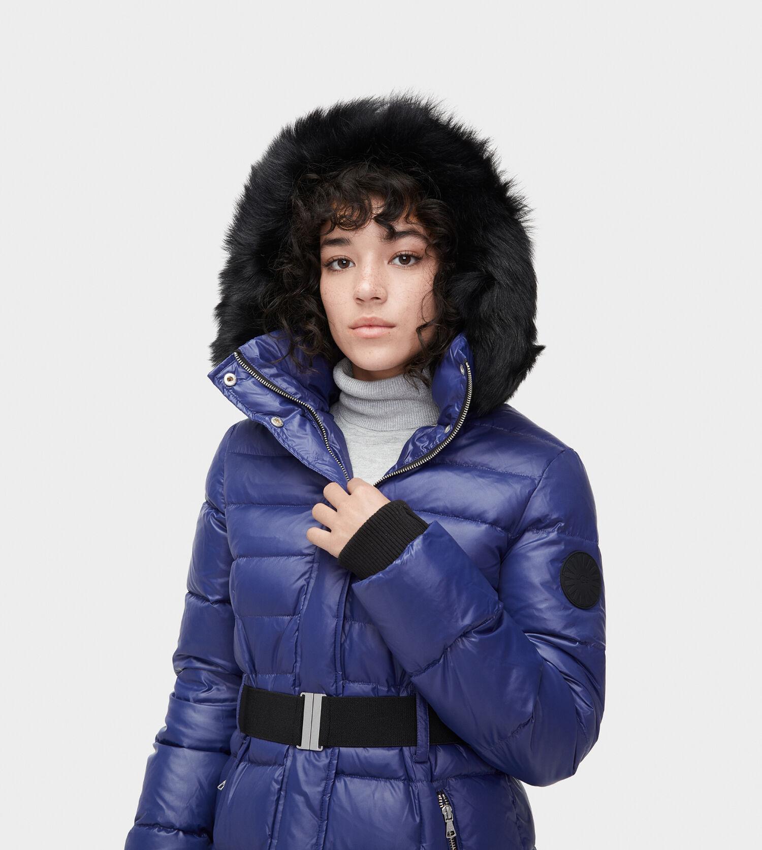 Women S Belted Down Jacket Ugg 174 Official Ugg Com