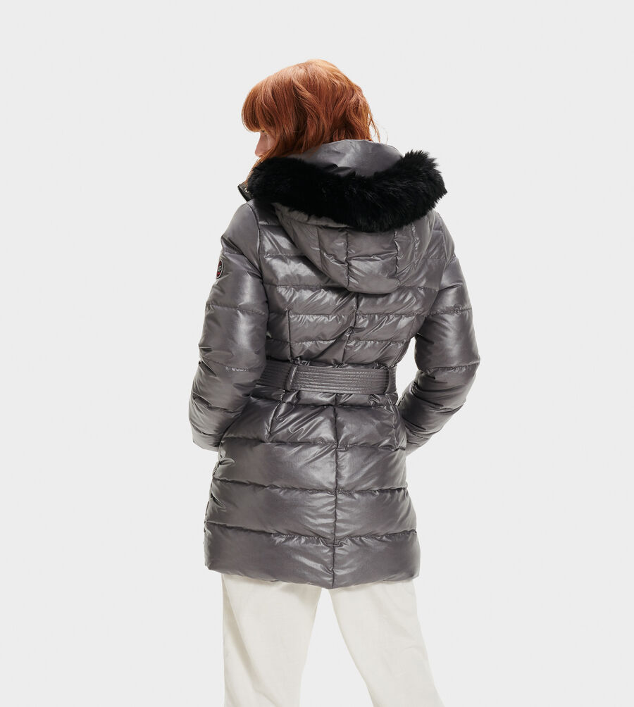 Valerie Belted Down Coat II - Image 3 of 5