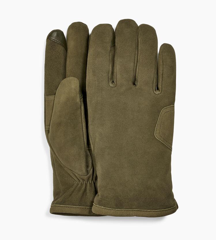 Suede Logo Patch Glove