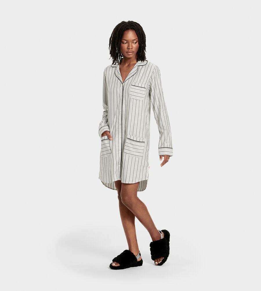 Laura Sleep Dress Stripe - Image 2 of 6
