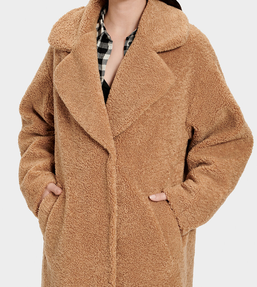 Charlisse Teddy Bear Coat - Image 4 of 6