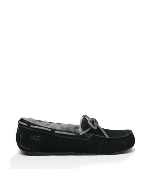 UGG Mens Olsen Slipper Wool In Black, Size 12