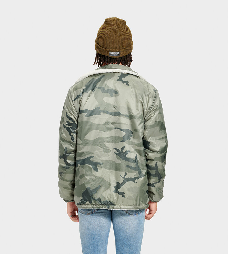 Mace Reversible Sherpa Jacket - Image 2 of 6