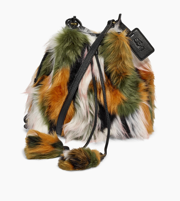 Lidiya Patchwork Bucket Bag