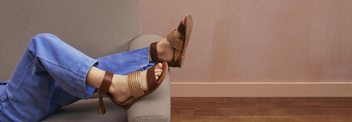 Marabel Metallic Sandal - Lifestyle image 1 of 1