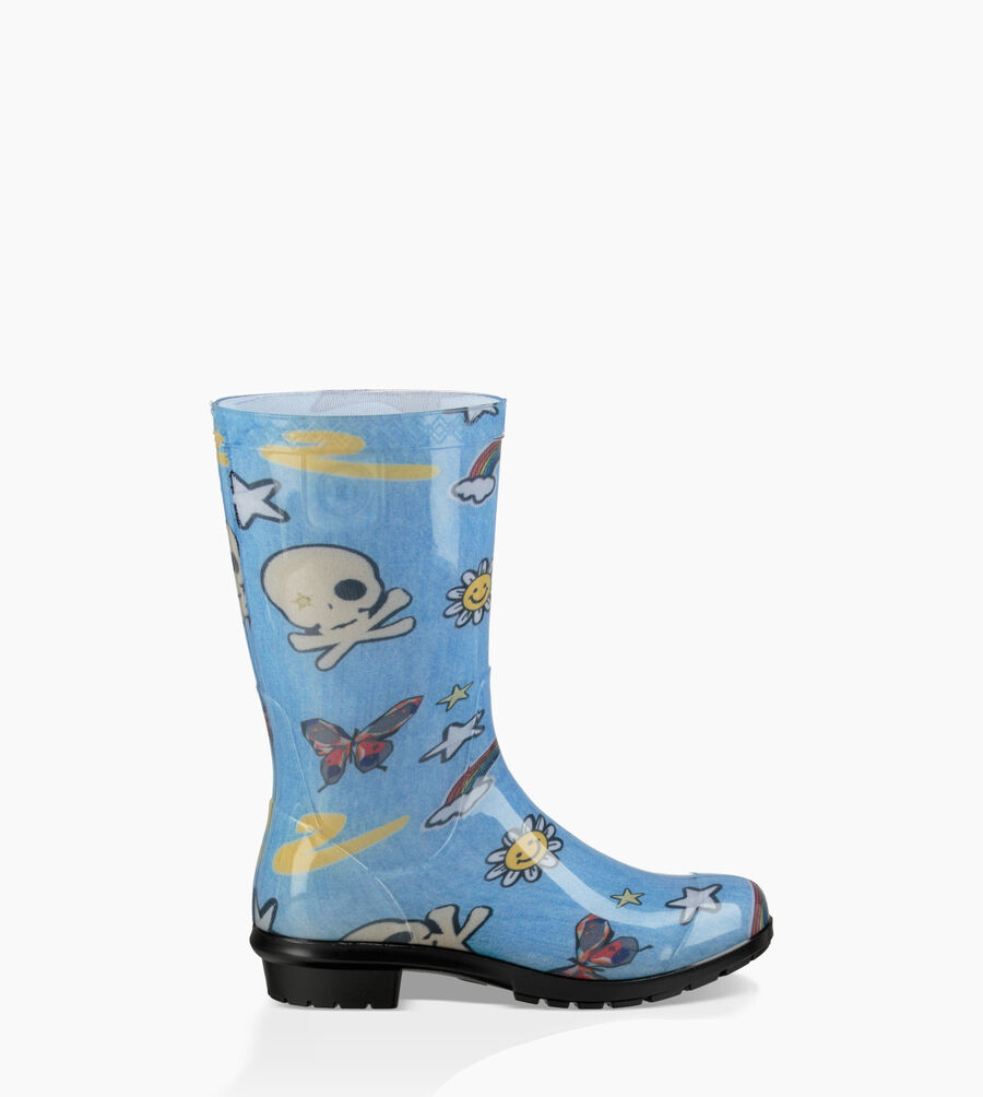 Raana Patches Rain Boot - Image 1 of 6