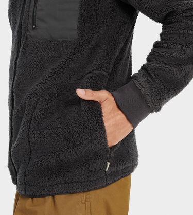 Lucas Sherpa Zip-Up Alternative View