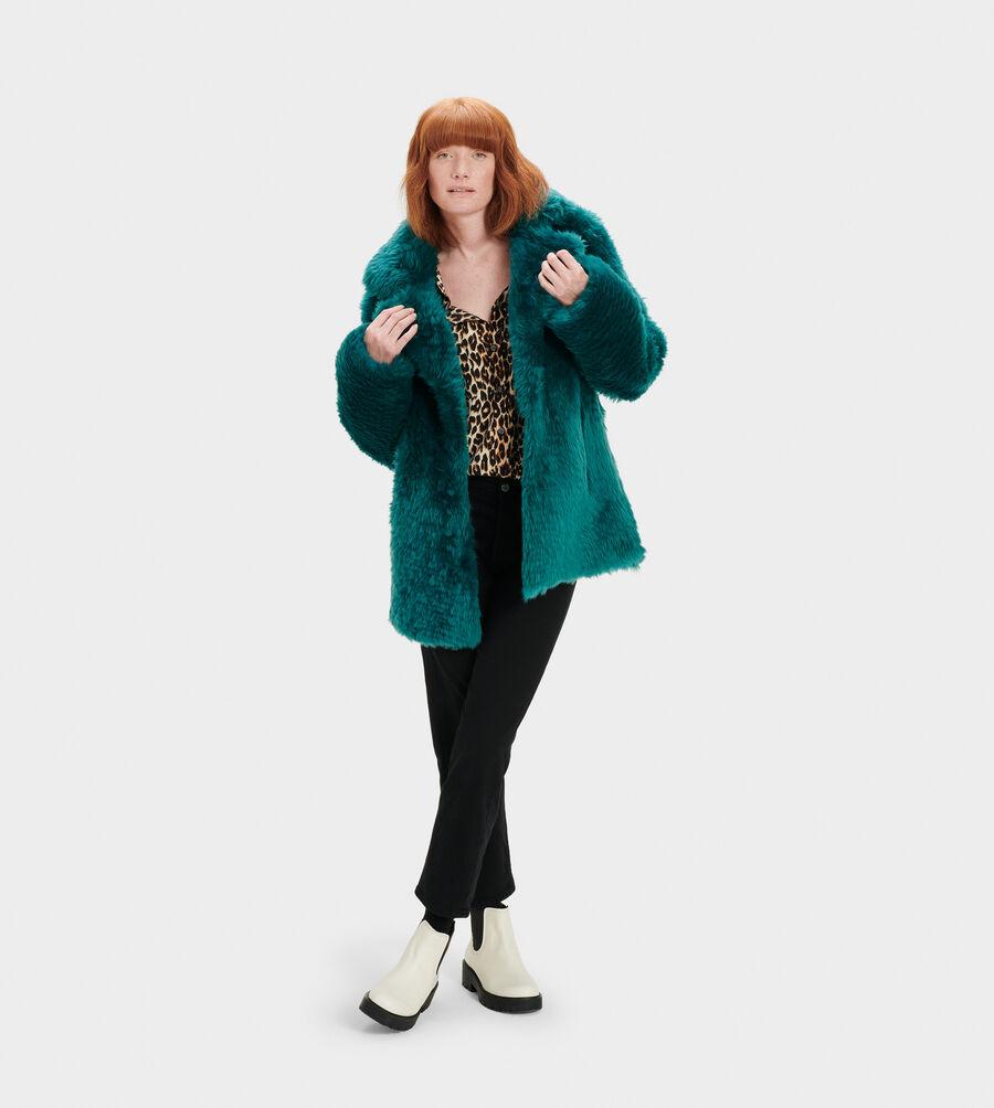 Lianna Short Shearling Coat - Image 1 of 4