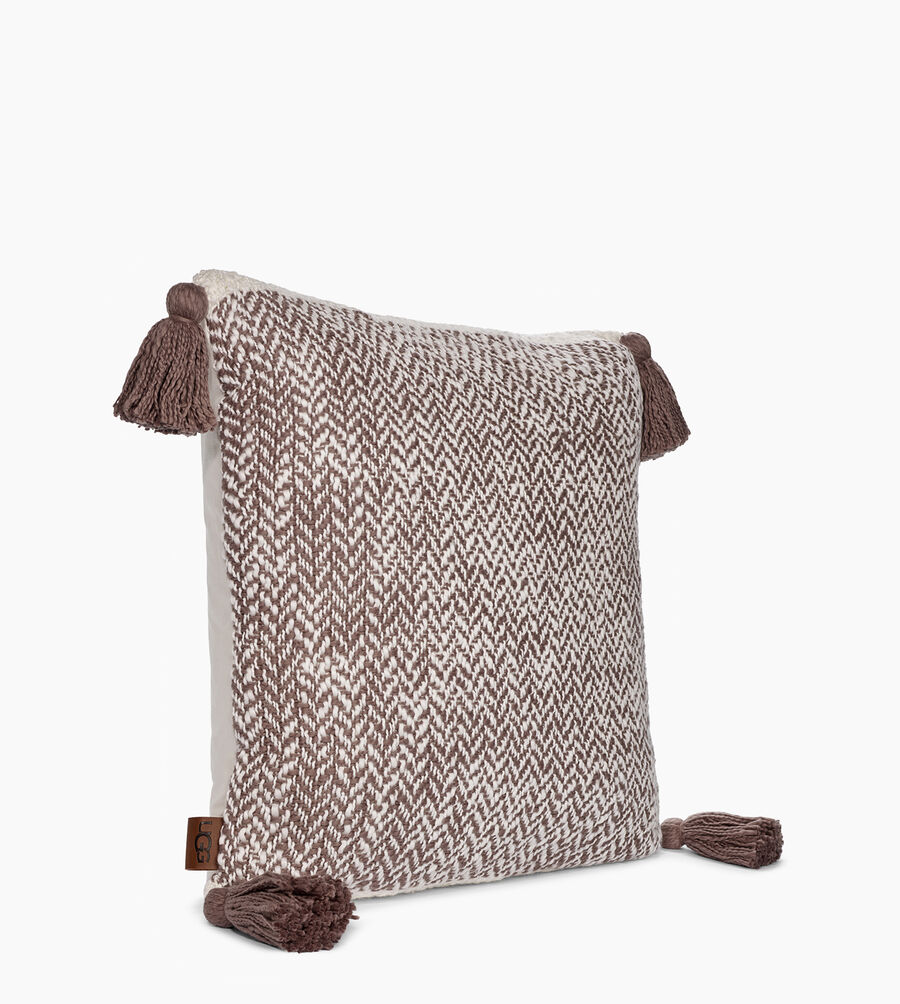 Leigh Herringbone Pillow - Image 2 of 3