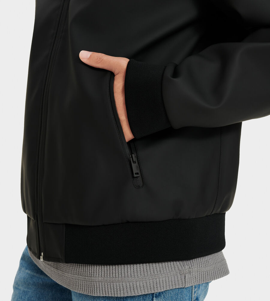 Diego Rubberized Hoodie - Image 3 of 4