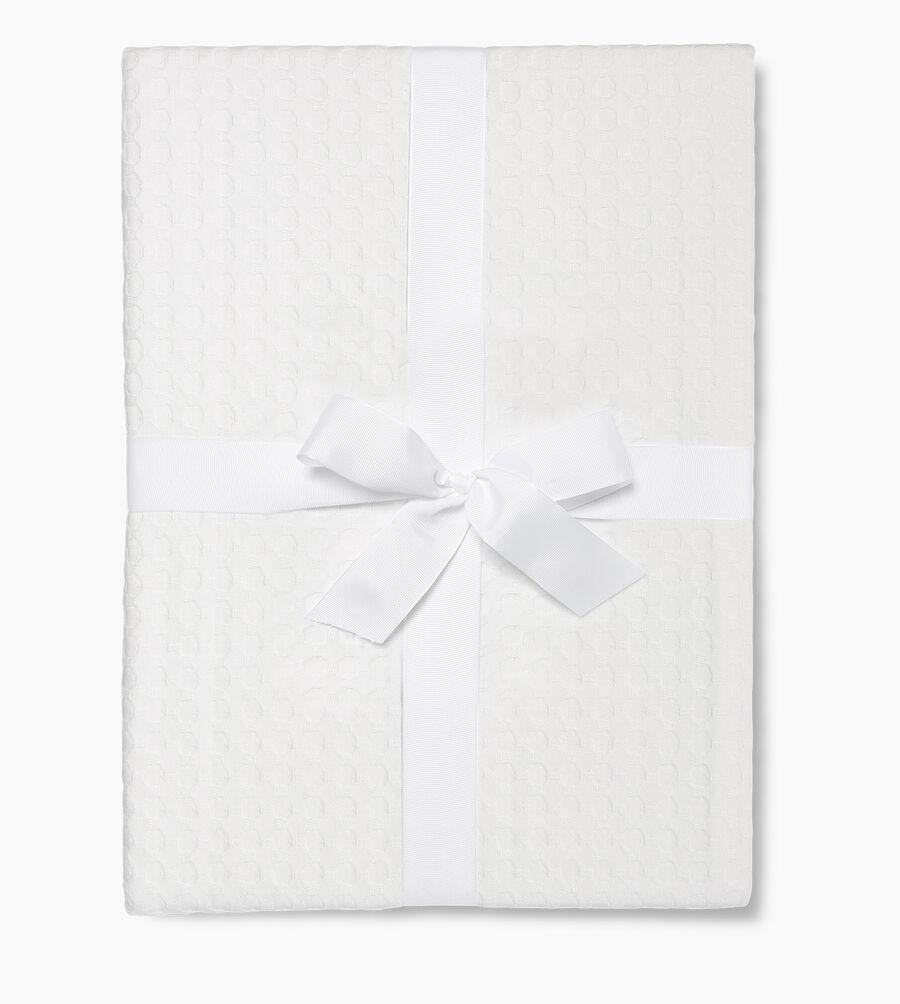 Etta Queen Size Waffle Blanket - Image 2 of 3