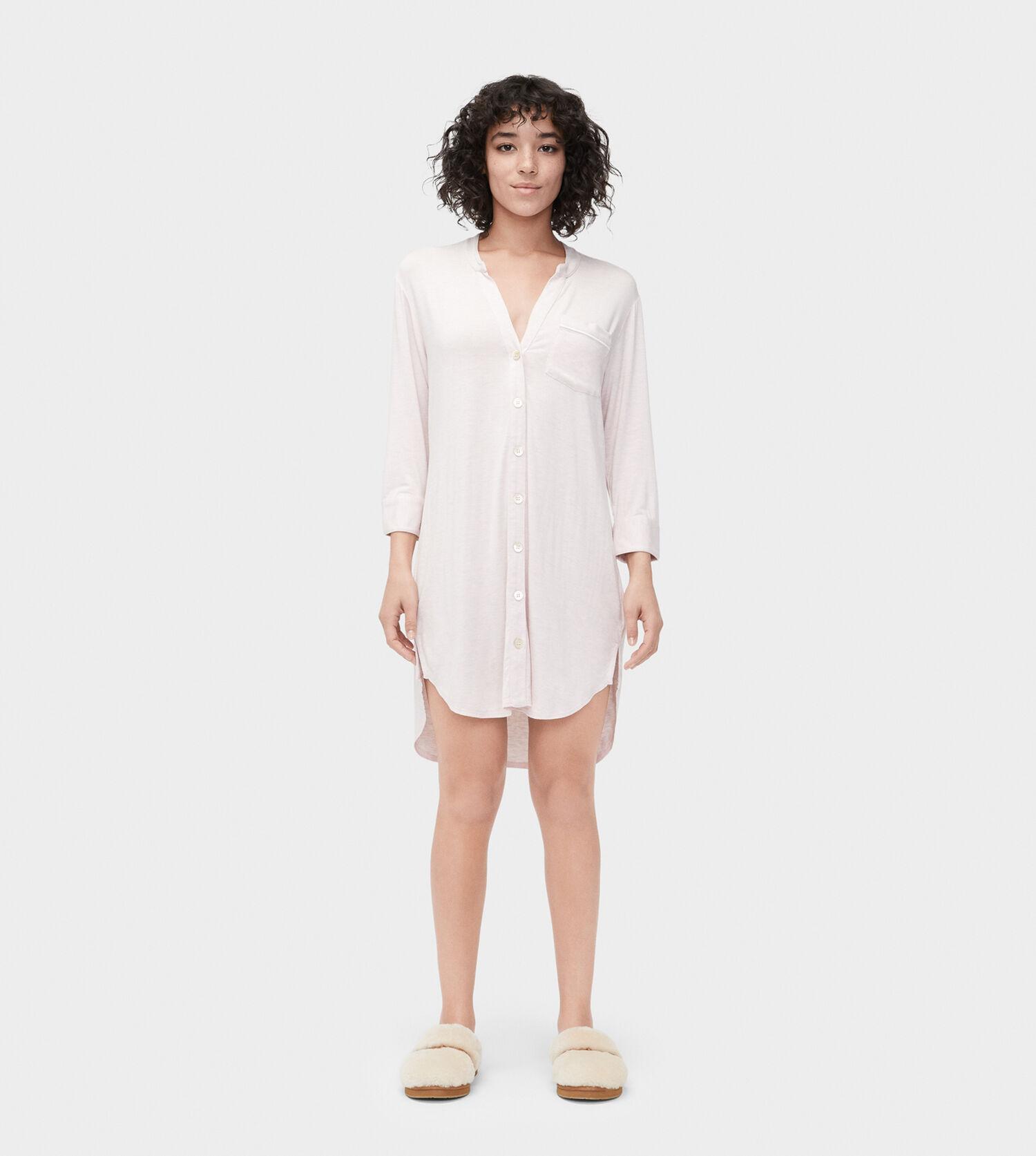 3818bd304c Zoom Vivian Knit Sleep Dress - Image 1 of 5