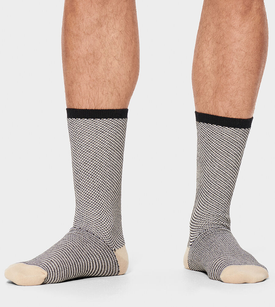 Cadin Pique Crew Sock - Image 1 of 2