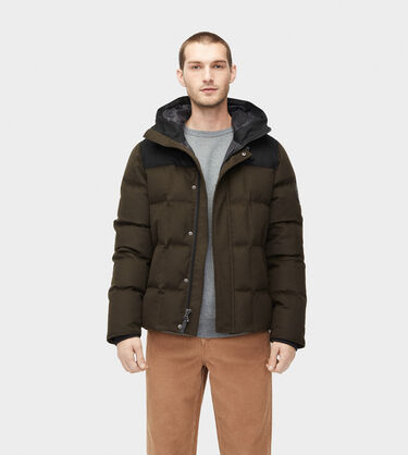 Cadin Hip-Length Wool Parka