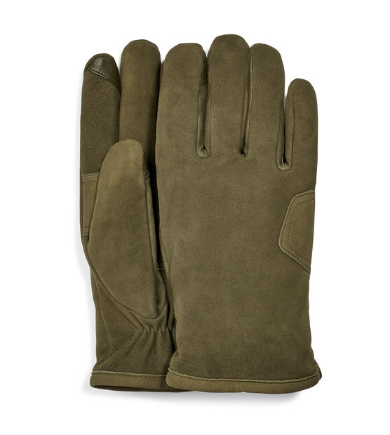 Suede Logo Patch Glove