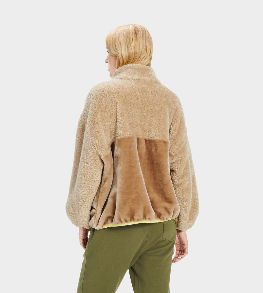 Marlene Sherpa Jacket - Image 3 of 5